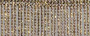 Fadenvorhang Lurex graphit-gold