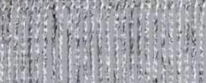Fadenvorhang Lurex weiss-silber