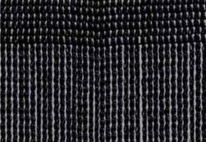 Fadenvorhang TREVIRA CS schwarz