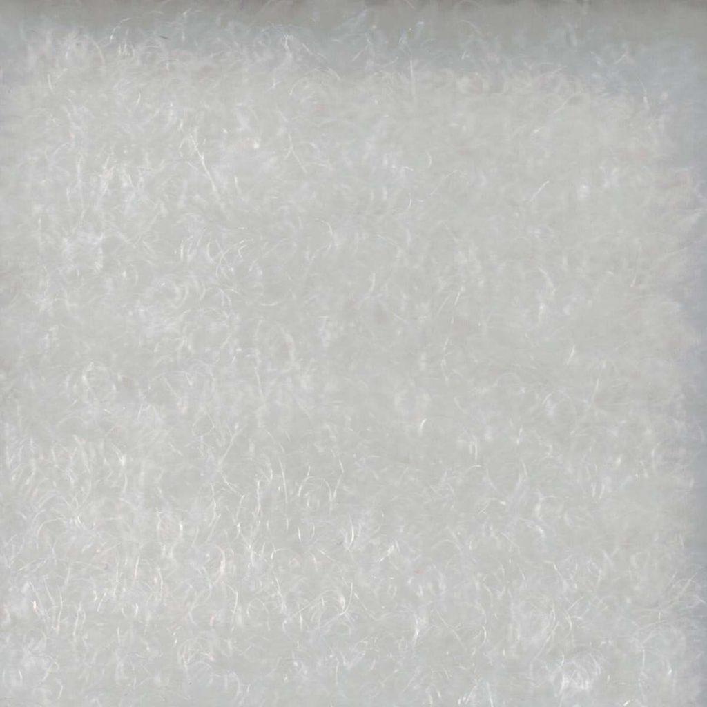 Messeteppich Comfort Farbe 510 - weiß mit Folie