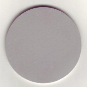 Tanzteppich Bolero grau (Bsp.: runder Zuschnitt)