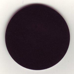 Tanzteppich Bolero schwarz (Bsp.: runder Zuschnitt)