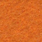 Messeteppich Flachfilz Paros Farbe 9347 Mandarin