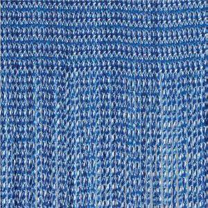 Fadenvorhang Object aus Trevira CS blau