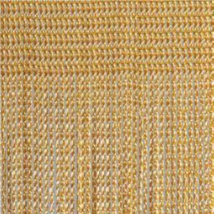 Fadenvorhang Object aus Trevira CS gelb