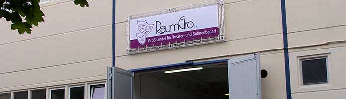 RaumGro - Grosshandel fuer Buehnen- und Theaterbedarf